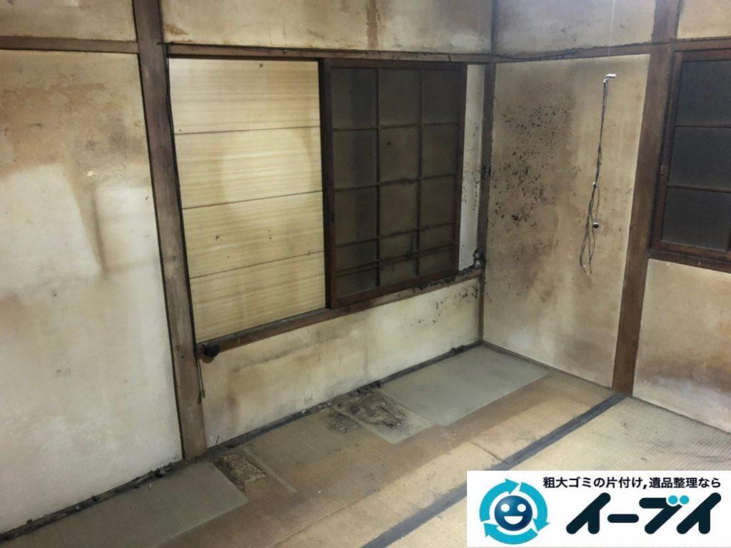 2019年8月13日大阪府大阪市大正区でお部屋の家財道具を全処分させていただきました。写真2