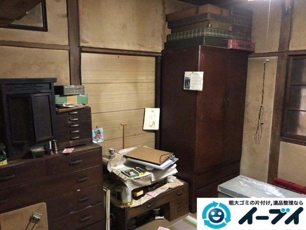 2019年8月13日大阪府大阪市大正区でお部屋の家財道具を全処分させていただきました。写真1