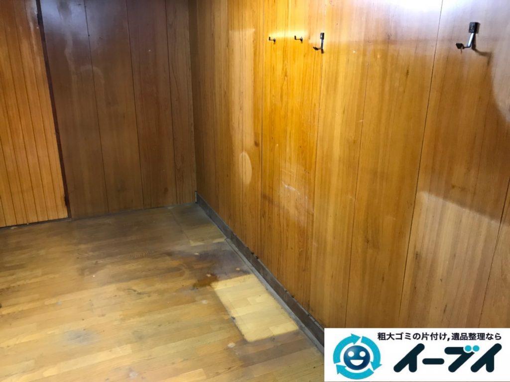 2019年8月12日大阪府大阪市大正区でテーブルやイスの家具処分、扇風機の家電処分などをさせていただきました。写真2