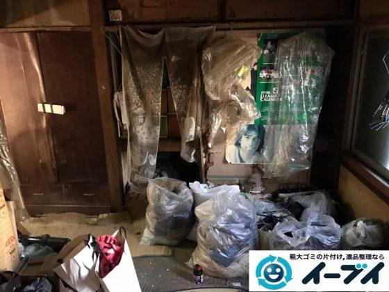 2019年8月5日大阪府大阪市天王寺区で退去に伴い、箪笥の大型家具や生活用品の不用品回収。写1