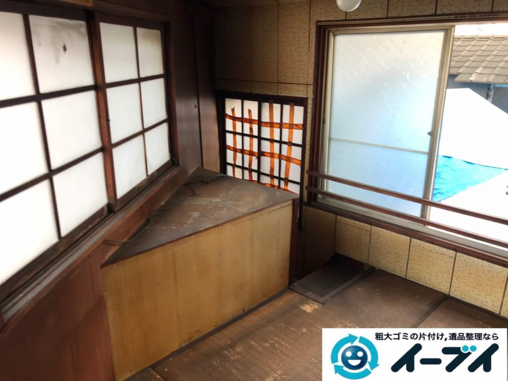 2019年7月16日大阪府四条畷市で洋服ダンスやベッドの粗大ゴミ処分。写真6