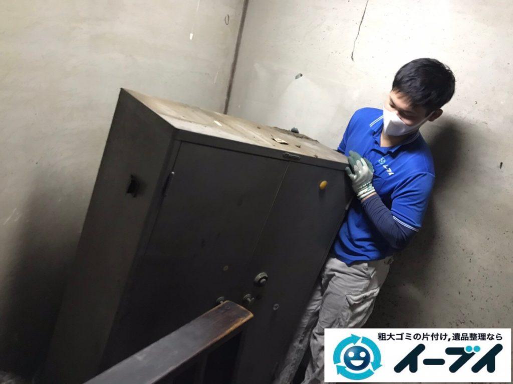 2019年7月24日大阪府四条畷市でお庭やガレージの不用品回収。写真4