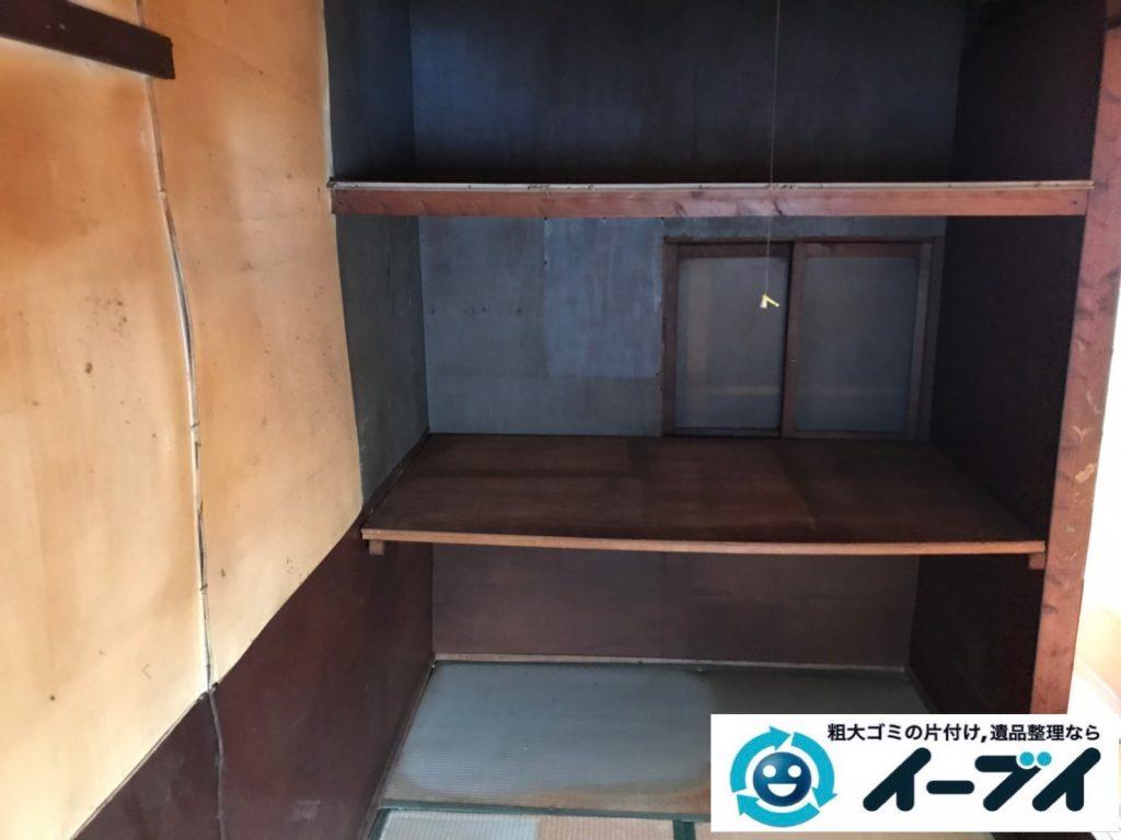 2019年8月23日大阪府大阪市旭区で婚礼家具の大型家具、冷蔵庫の大型家電を不用品回収しました。写真1
