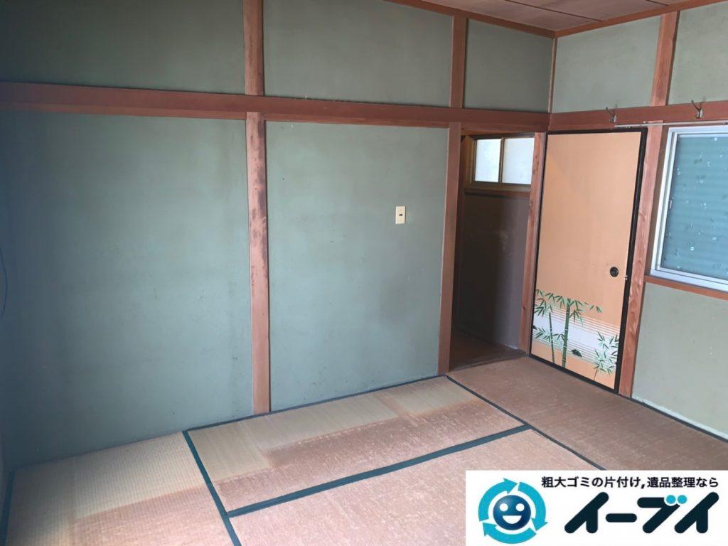 2019年8月20日大阪府大阪市城東区で和箪笥や整理箪笥の大型家具処分。写真2