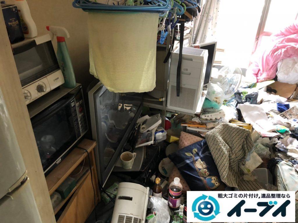 2019年8月21日大阪府大阪市東淀川区でゴミ屋敷の片付け作業をしました。写真3