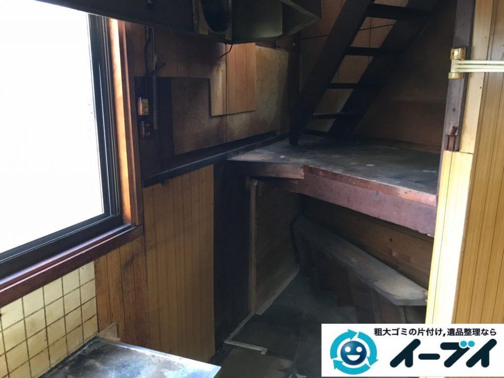 2019年8月23日大阪府大阪市旭区で婚礼家具の大型家具、冷蔵庫の大型家電を不用品回収しました。写真5