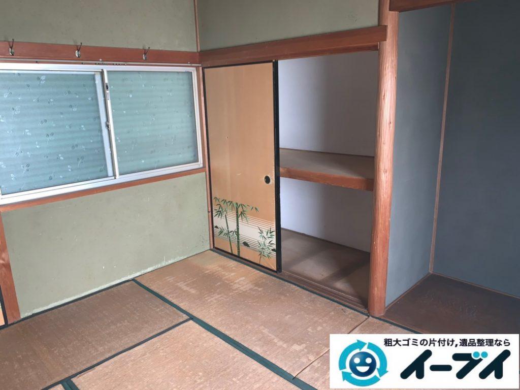 2019年8月20日大阪府大阪市城東区で和箪笥や整理箪笥の大型家具処分。写真4