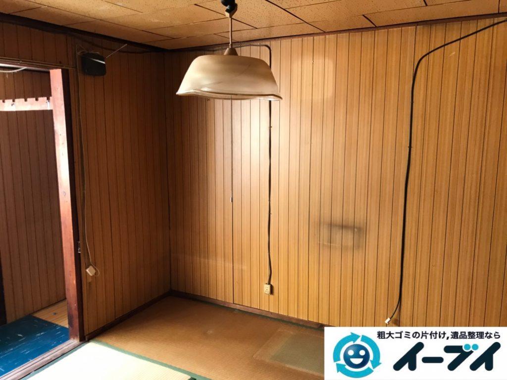 2019年8月22日大阪府大阪市東住吉区でテレビや収納棚なの不用品回収。写真4