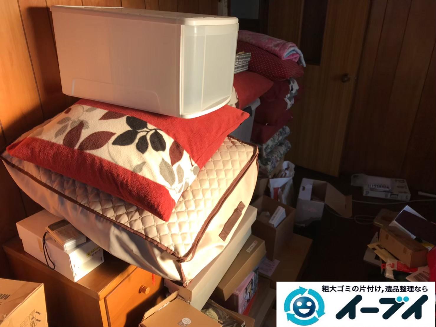 2019年8月30日大阪府大阪市浪速区で退去に伴いお家の家財道具を全処分しました。写真3
