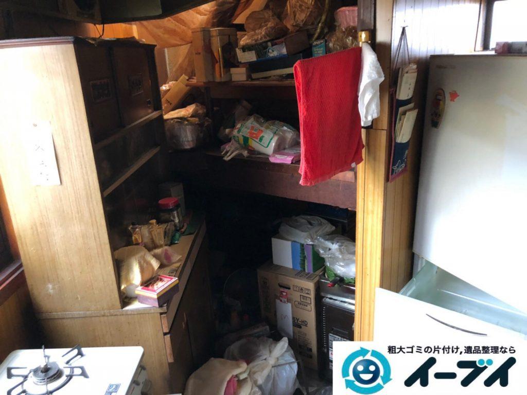 2019年8月23日大阪府大阪市旭区で婚礼家具の大型家具、冷蔵庫の大型家電を不用品回収しました。写真4