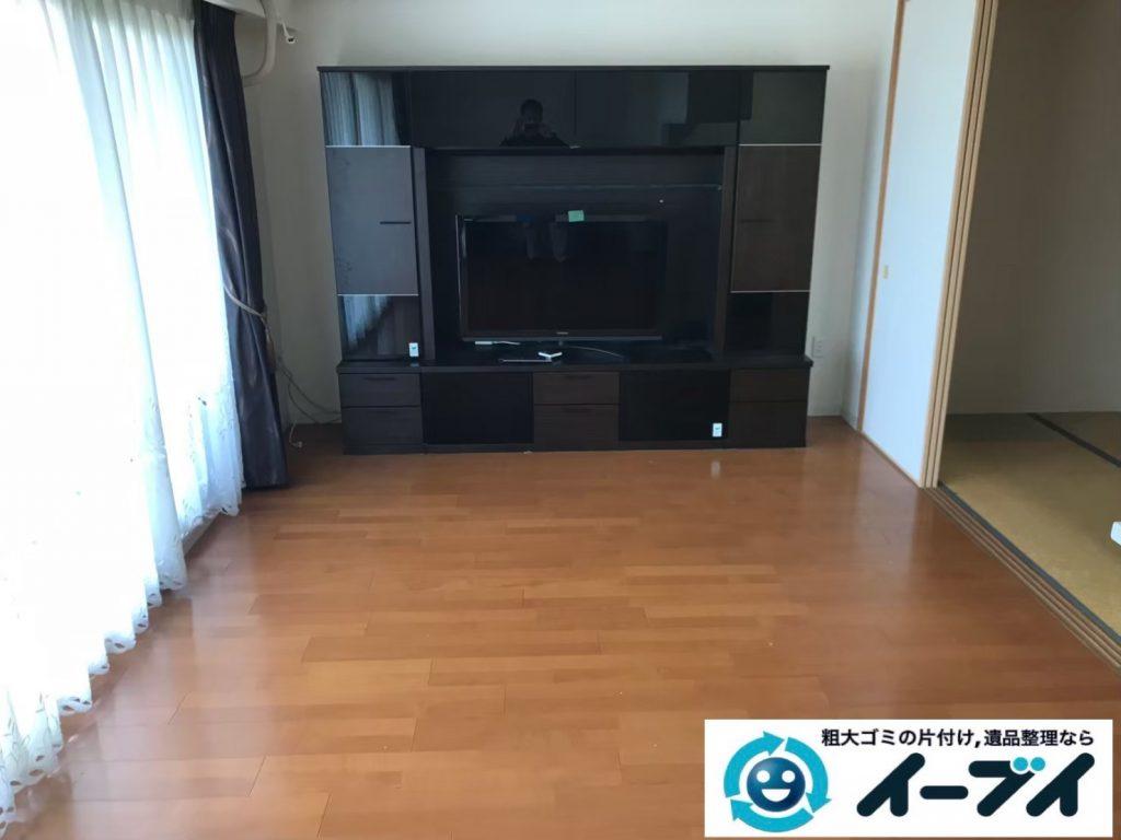 2019年9月12日大阪府大阪市西区でテーブルやソファの大型家具処分。写真4