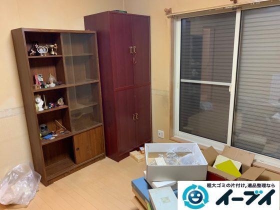 大阪府大阪市中央区でタンスや収納棚の大型家具処分の不用品回収。1