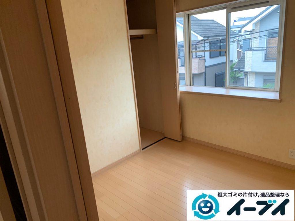 2019年9月27日大阪府大阪市港区で退去に伴い、お家の家財道具を一式処分させていただきました。写真4