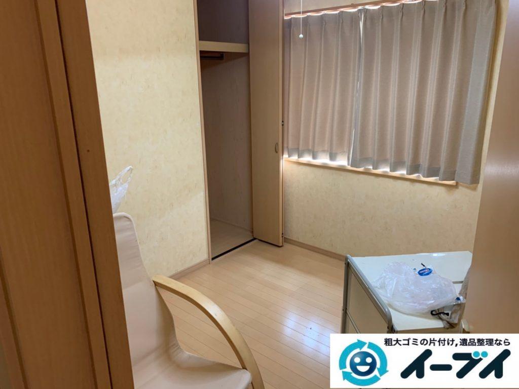 2019年9月27日大阪府大阪市港区で退去に伴い、お家の家財道具を一式処分させていただきました。写真3