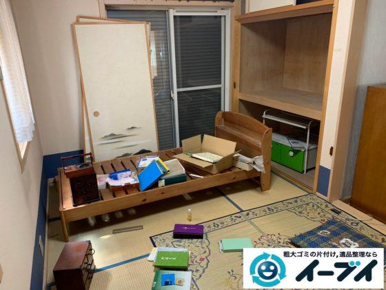 2019年10月4日大阪府吹田市でベッドの大型家具の不用品回収処分。写真5