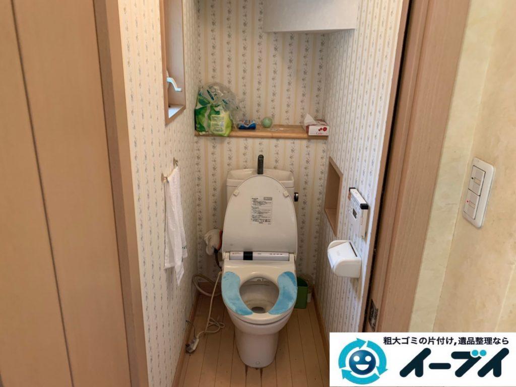 2019年10月4日大阪府吹田市でベッドの大型家具の不用品回収処分。写真3