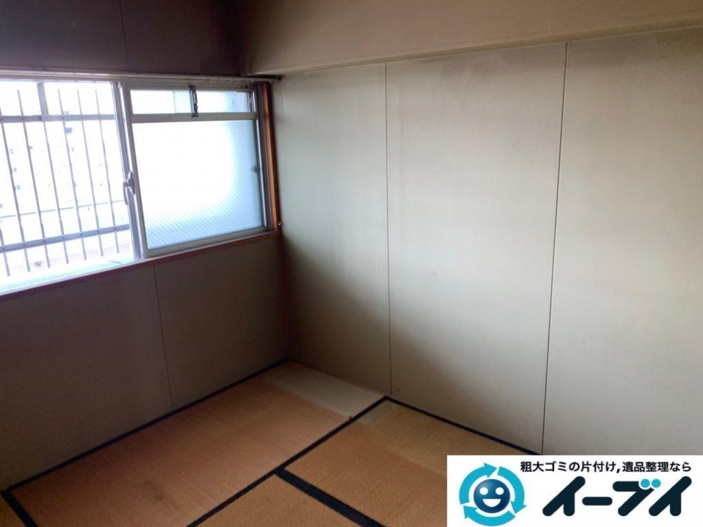 2019年9月25日大阪府大阪市阿倍野区で婚礼家具の和箪笥や洋服ダンスの大型家具処分。写真4