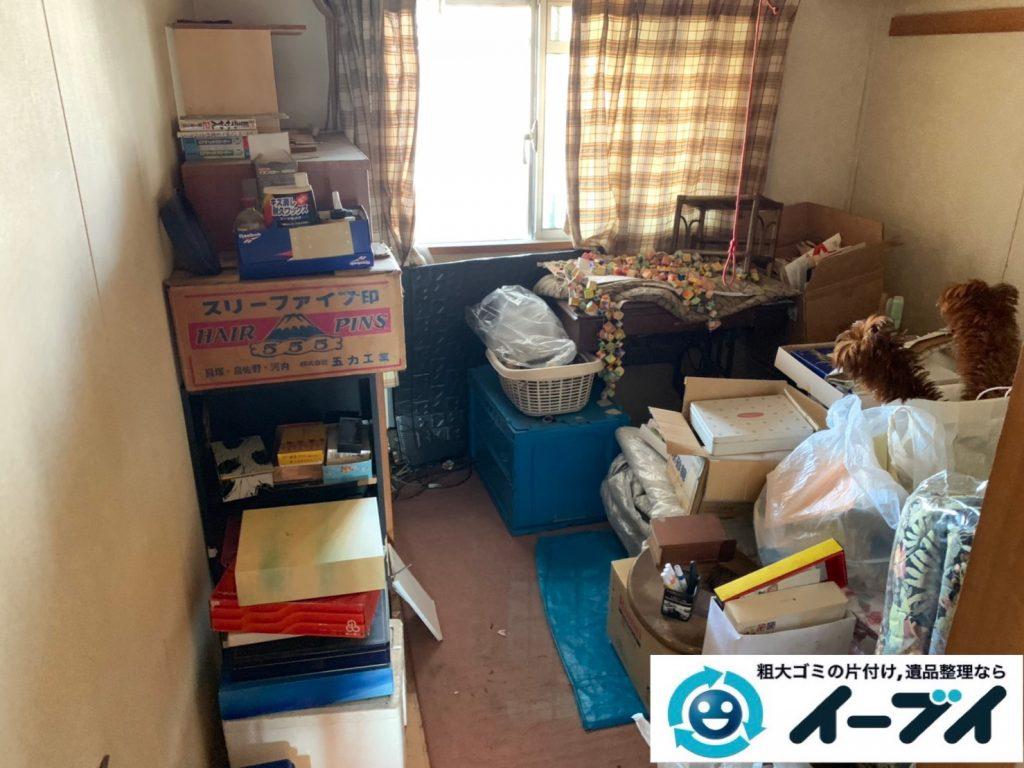 2019年9月26日大阪府大阪市鶴見区で退去に伴いお家の家財道具を一式処分させていただきました。写真1