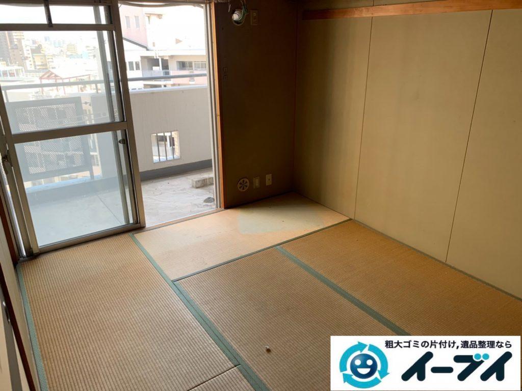 2019年10月10日大阪府太子町でタンスやソファの大型家具、洗濯機の大型家電処分をさせていただきました。写真4