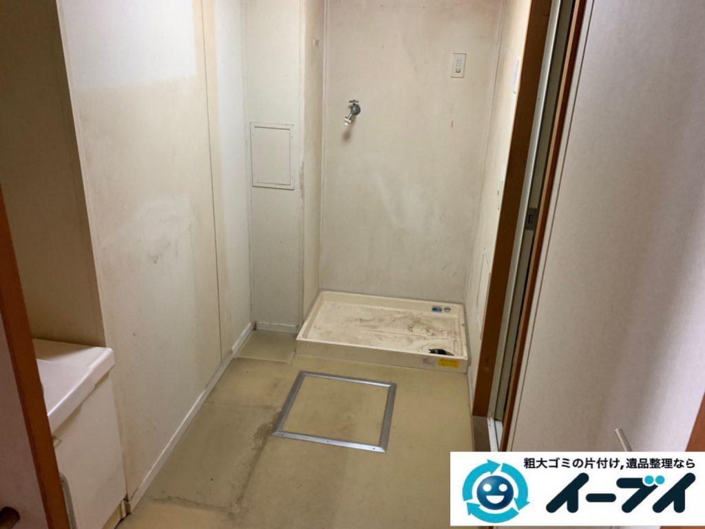 2019年10月10日大阪府太子町でタンスやソファの大型家具、洗濯機の大型家電処分をさせていただきました。写真2