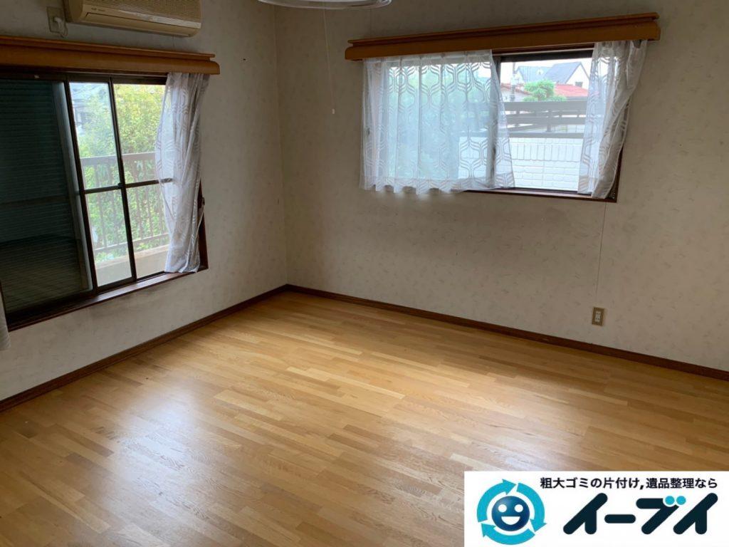 2019年10月8日大阪府大阪市中央区でベッドの大型家具処分をしました。写真4