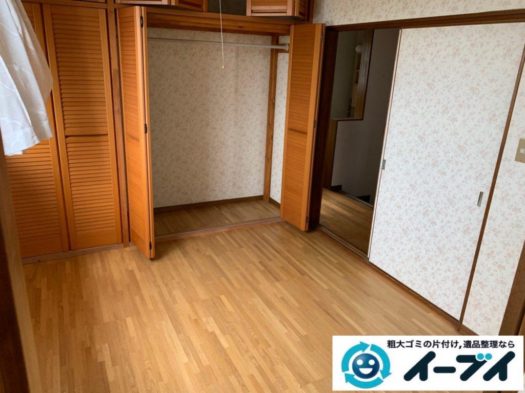 2019年10月8日大阪府大阪市中央区でベッドの大型家具処分をしました。写真2