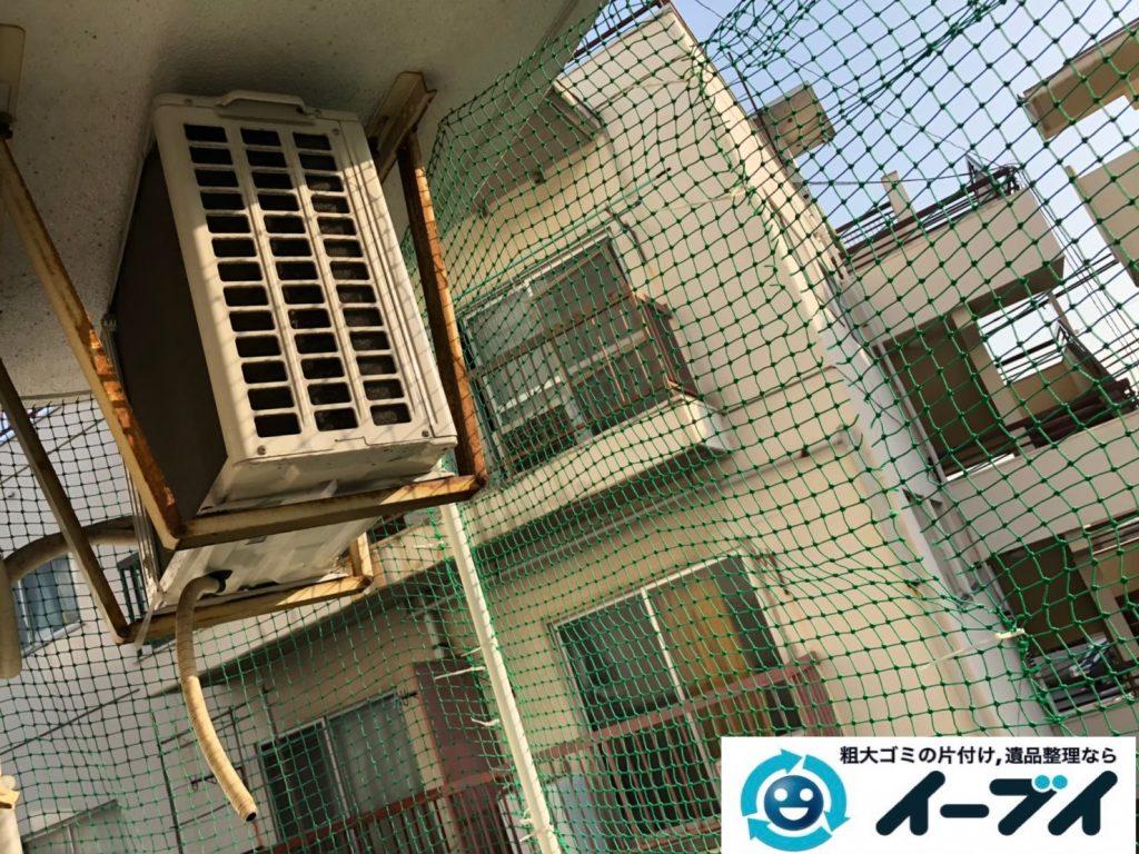 2019年9月19日大阪府大阪市都島区でベランダの不用品回収をさせていただきました。写真3