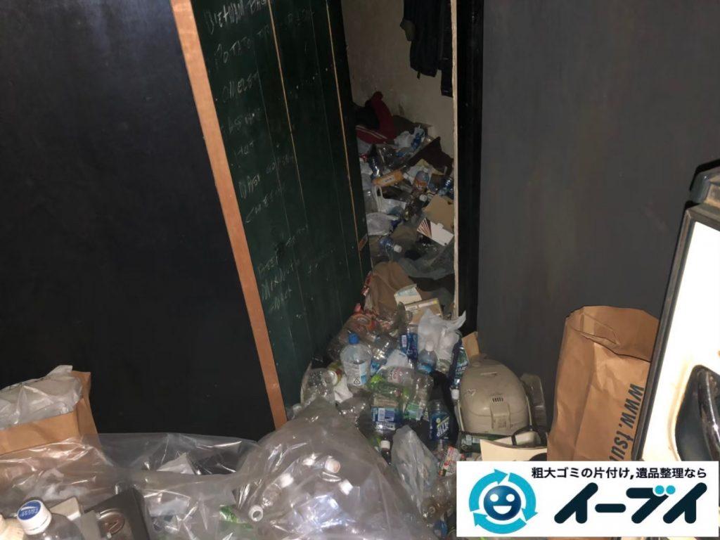 2019年9月17日大阪府大阪市西淀川区でゴミ屋敷の片付け作業のご依頼をいただきました。写真1