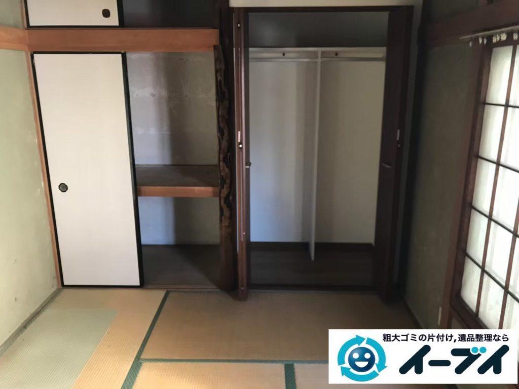 2019年9月10日大阪府大阪市港区で婚礼家具の大型家具処分をしました。写真4