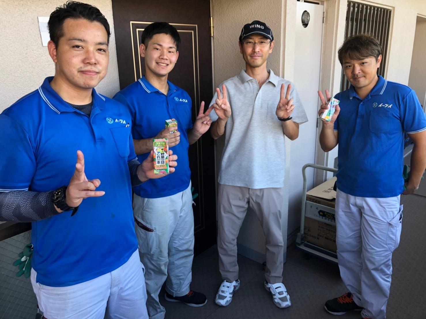 2019年10月16日兵庫県宝塚市のお客様より、お部屋の退去に伴い、引越と不用品の回収をして欲しいとの事で弊社にご依頼頂きました。