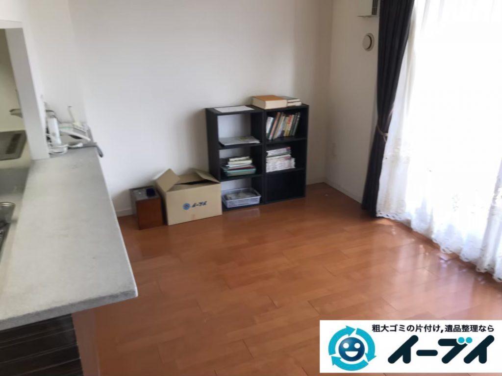 2019年9月12日大阪府大阪市西区でテーブルやソファの大型家具処分。写真2