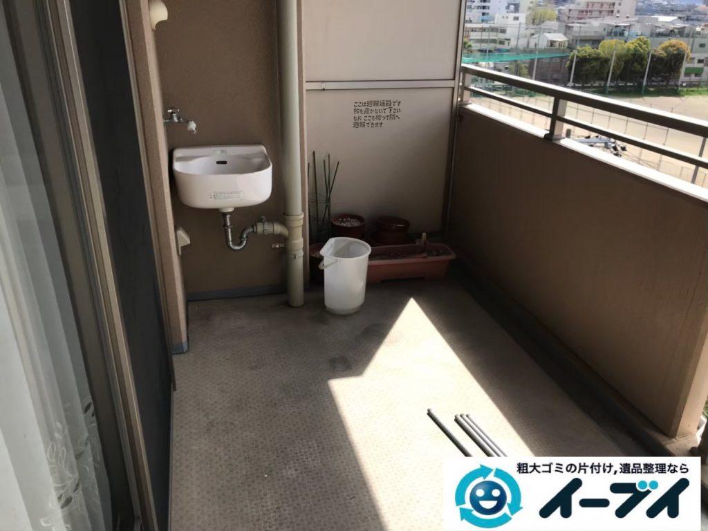 2019年9月6日大阪府大阪市生野区で引越しに伴いお家の片付け作業。写真3