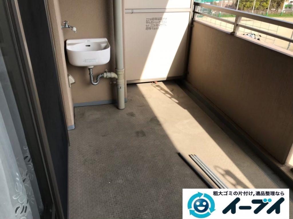 2019年9月6日大阪府大阪市生野区で引越しに伴いお家の片付け作業。写真4月分