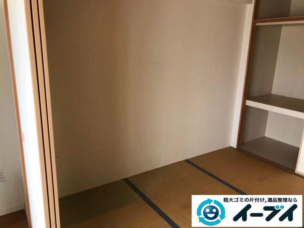 2019年9月12日大阪府大阪市西区でテーブルやソファの大型家具処分。写真6