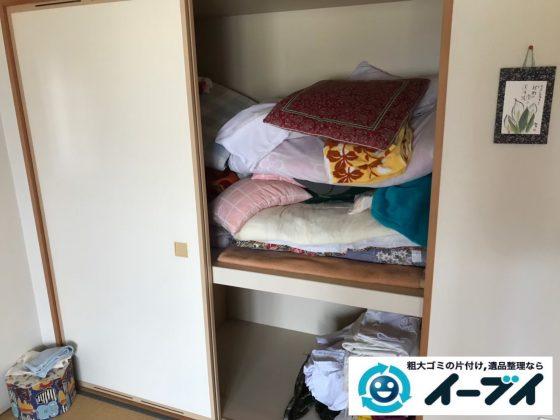 2019年9月6日大阪府大阪市生野区で引越しに伴いお家の片付け作業。写真1