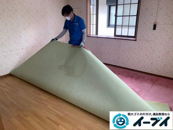 2019年10月24日大阪府島本町で退去に伴い、お家の家財道具の不用品回収。写真4