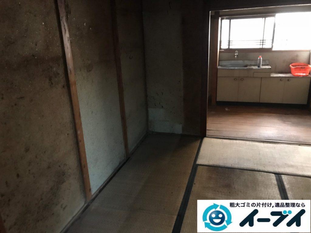 2019年11月21日大阪府大阪市住吉区で婚礼家具の大型家具、テレビの家電処分などをさせていただきました。写真4