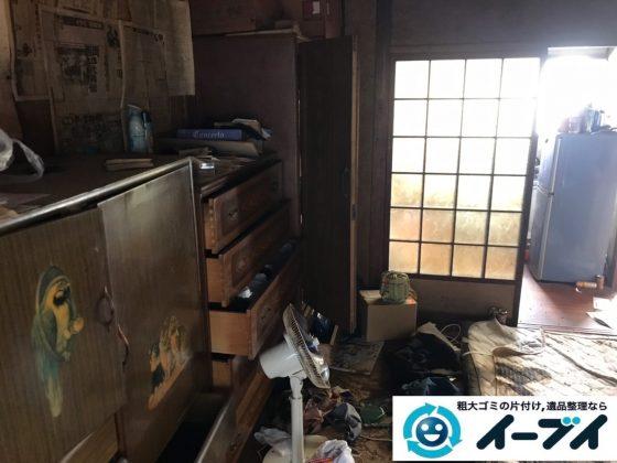 2019年11月21日大阪府大阪市住吉区で婚礼家具の大型家具、テレビの家電処分などをさせていただきました。写真3