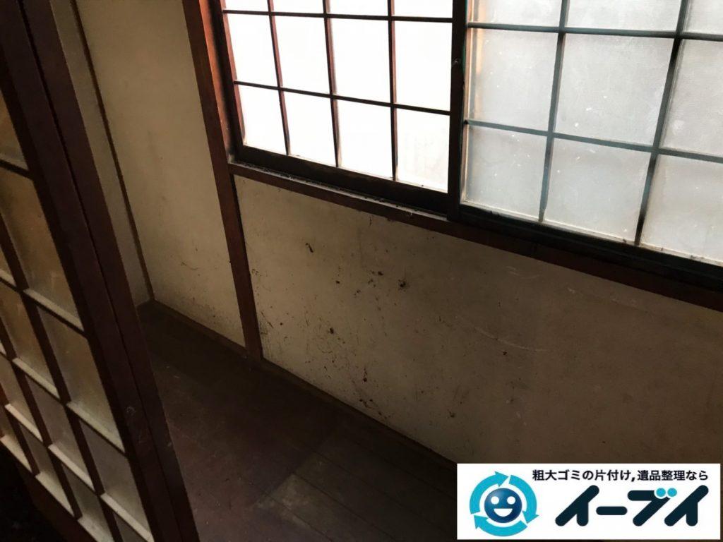 2019年11月21日大阪府大阪市住吉区で婚礼家具の大型家具、テレビの家電処分などをさせていただきました。写真2