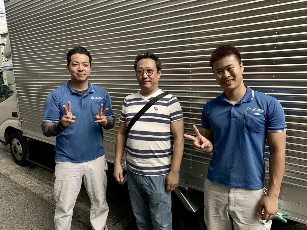 2019年10月31日大阪市住之江区のお客様より、お部屋の退去に伴い、残っている家電製品や大型家具を処分したいとの事で弊社にご依頼頂きました。