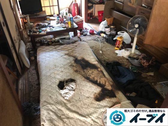 2019年11月28日大阪府堺市北区で退去に伴い、お家の家財道具を一式処分しました。写真3