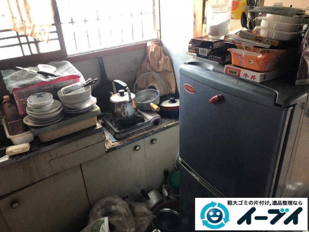 2019年11月28日大阪府堺市北区で退去に伴い、お家の家財道具を一式処分しました。写真