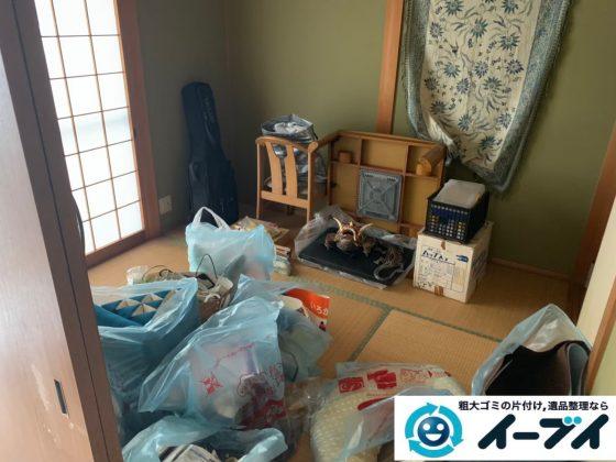 2019年12月11日大阪府泉南市で引越しに伴い、お家の家財道具を一式処分させていただきました。写真2