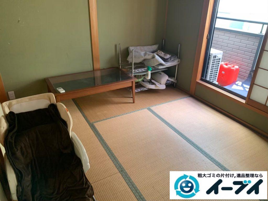 2019年12月12日大阪府大阪市港区でダイニングテーブルや椅子の家具処分、キッチンの片付けをさせていただきました。写真2