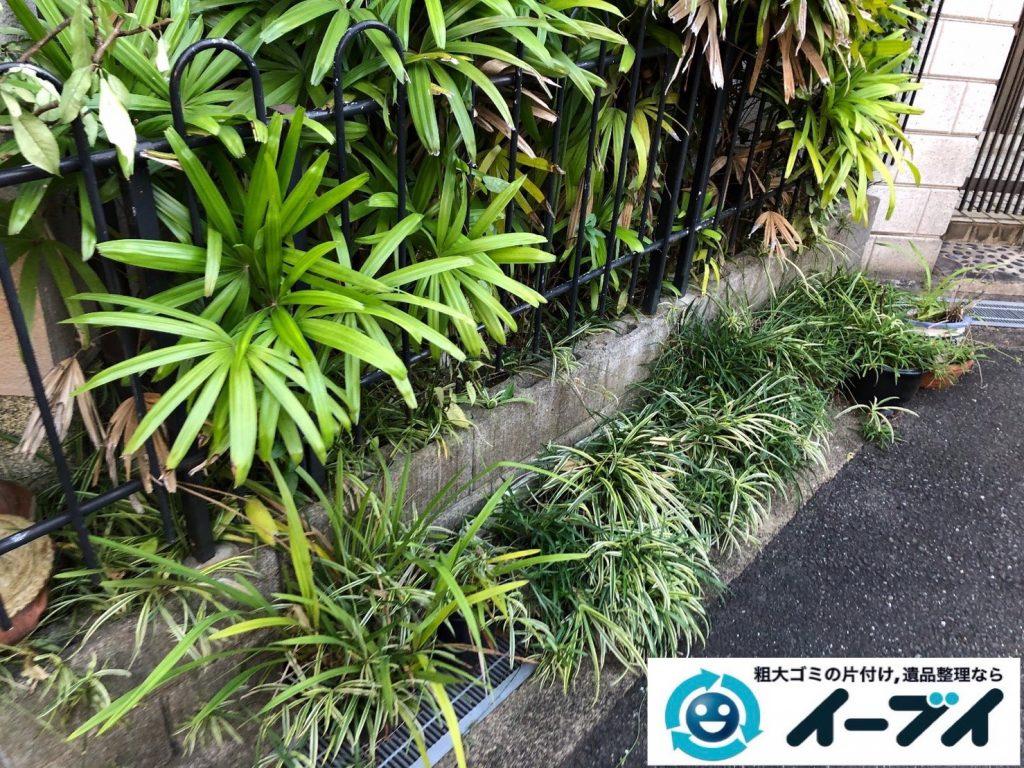 2019年12月27日大阪府豊中市で退去に伴い、ソファ、テーブルなど粗大ゴミの不用品回収。写真5