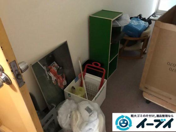 2020年1月16日大阪府高槻市で引越し後に出た、引越しゴミの不用品回収。写真3