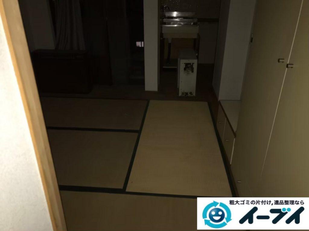 2020年1月15日大阪府阪南市でソファやガスファンヒーターなど粗大ゴミの用品回収。写真4
