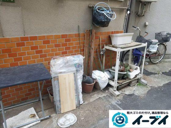 2020年2月3日大阪府大東市で引越しに伴い、引っ越しゴミや不用品回収作業。写真4