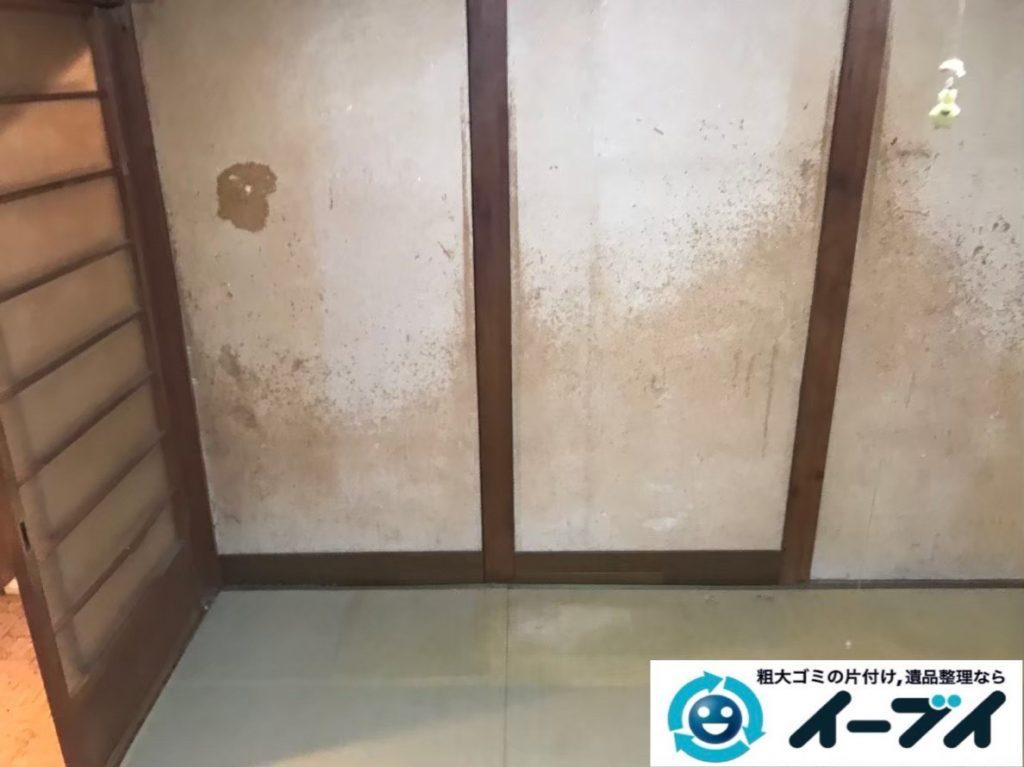 2020年2月7日大阪府和泉市で整理箪笥やテレビなどの不用品回収。写真4