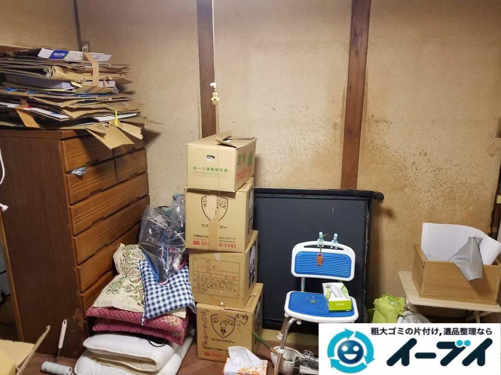 2020年2月7日大阪府和泉市で整理箪笥やテレビなどの不用品回収。写真3